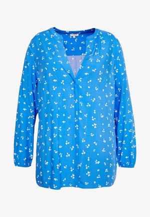 WRAP BLOUSE - Blus - blue