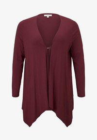MY TRUE ME TOM TAILOR - Chaqueta de punto - deep burgundy red - 3