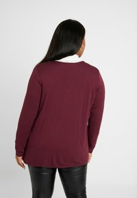 MY TRUE ME TOM TAILOR - Chaqueta de punto - deep burgundy red - 2