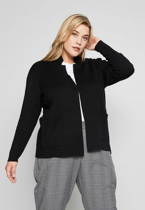 CARDIGAN MILANO - Cardigan - deep black