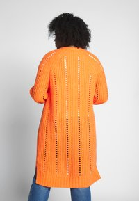 MY TRUE ME TOM TAILOR - O SHAPE CARDIGAN - Cardigan - knockout orange - 2