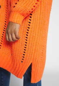MY TRUE ME TOM TAILOR - O SHAPE CARDIGAN - Cardigan - knockout orange - 5