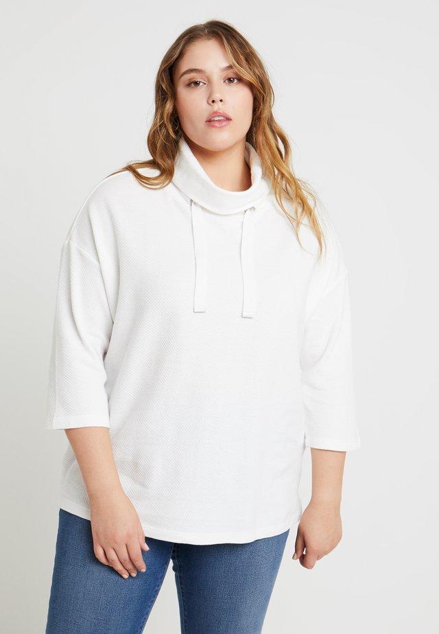 STRUCTURE - Sweatshirt - whisper white