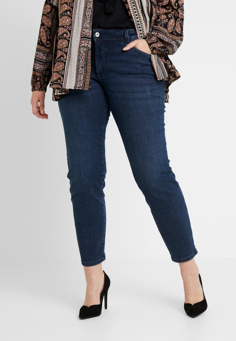 MY TRUE ME TOM TAILOR - Slim fit jeans - stone grey denim