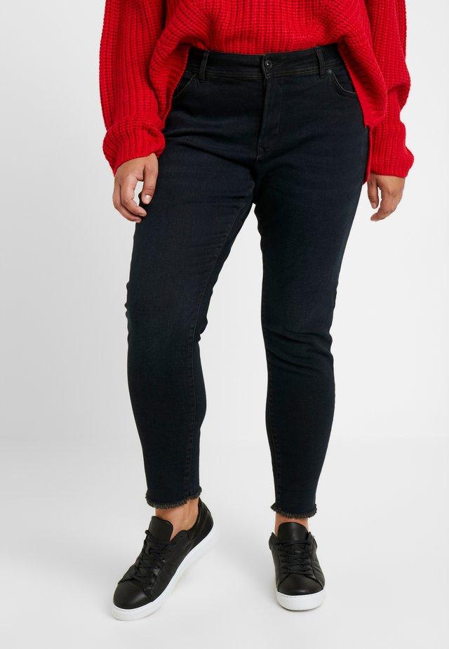 Jeans Skinny Fit - dark stone/black denim