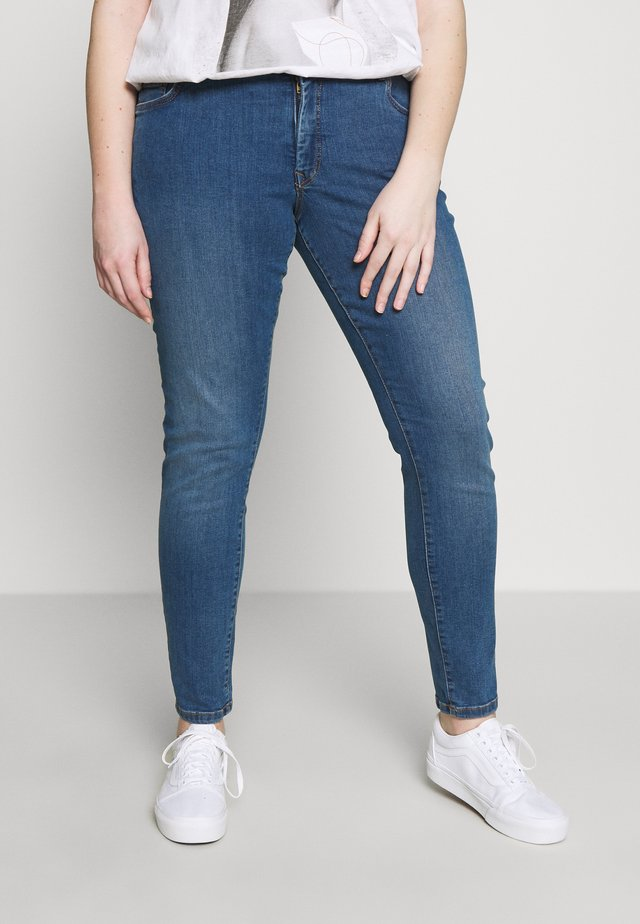 BASIC - Skinny džíny - blue denim