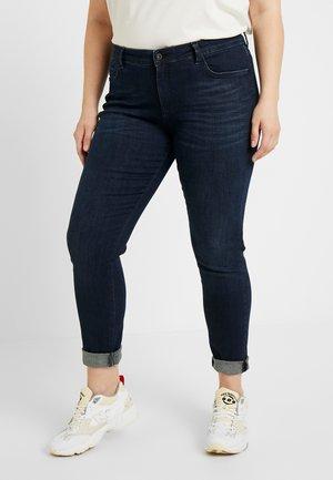 Jeans Skinny Fit - mid stone wash denim