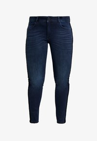 MY TRUE ME TOM TAILOR - TAPE DETAIL - Slim fit jeans - dark stone wash denim blue - 3