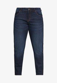 MY TRUE ME TOM TAILOR - PIPING DETAIL - Jeans Skinny Fit - dark stone wash denim - 3