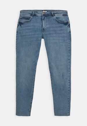 USED ANKLE - Jeans Skinny Fit - light stone blue denim
