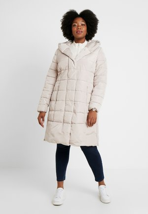 COLD PUFFER LONGCOAT - Veste d'hiver - silver grey