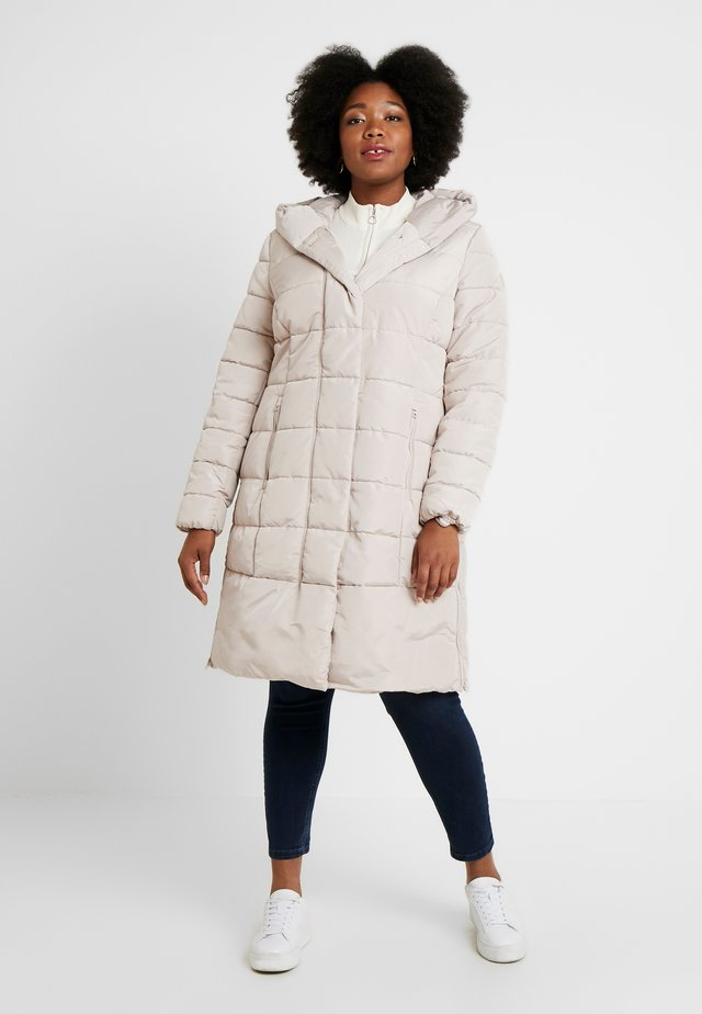 COLD PUFFER LONGCOAT - Winter coat - silver grey
