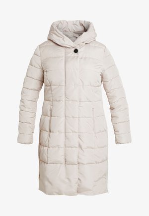 COLD PUFFER LONGCOAT - Abrigo de invierno - silver grey