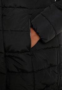 MY TRUE ME TOM TAILOR - COLD PUFFER LONGCOAT - Winterjas - deep black - 6