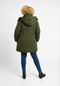 MY TRUE ME TOM TAILOR - ARTIC PARKA - Parka - woodland green - 2