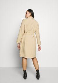 MY TRUE ME TOM TAILOR - FLUENT TRENCH COAT - Trench - cream toffee - 2