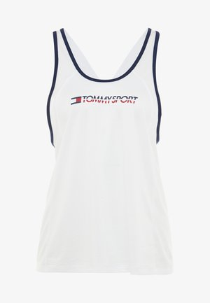 FLAG TAPE TANK  - T-shirt sportiva - white