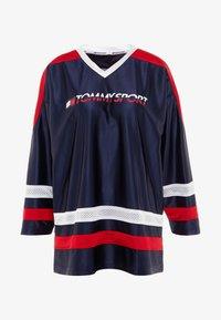 Tommy Sport - ARCHIVE LONGSLEEVE TEE - Camiseta de manga larga - blue - 4