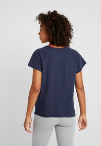 Tommy Sport - BLOCKED TEE LOGO - T-shirt con stampa - blue - 2