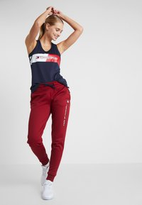 Tommy Sport - GRAPHIC FLAG TANK  - Top - blue - 1