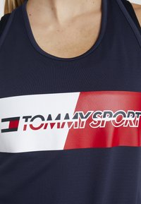 Tommy Sport - GRAPHIC FLAG TANK  - Top - blue - 5