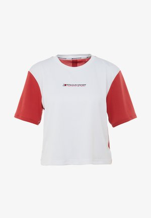 BOXY SHORT SLEEVE - T-shirts med print - red