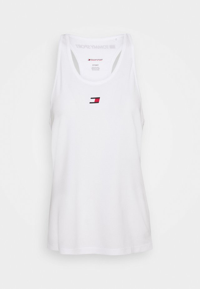 PERFORMANCE TANK TOP - Sports shirt - white