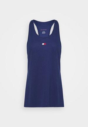 PERFORMANCE TANK TOP - Sportshirt - blue