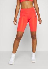 Tommy Sport - LONG SHORT - Leggings - orange - 0