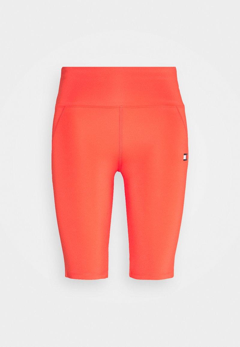 Tommy Sport - LONG SHORT - Leggings - orange