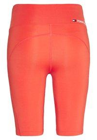 Tommy Sport - LONG SHORT - Leggings - orange - 1