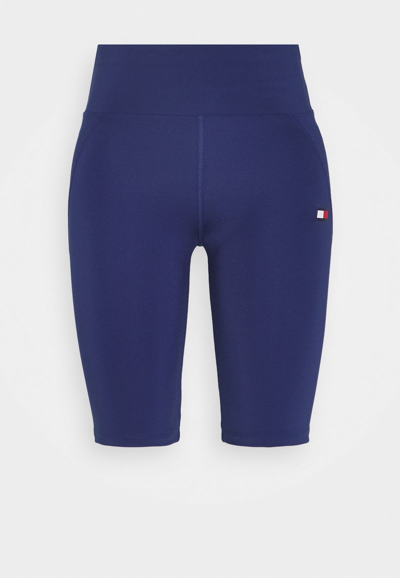 Tommy Sport - LONG SHORT - Tights - blue