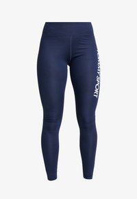 Tommy Sport - HIGHWAIST LEGGING LOGO - Tights - blue