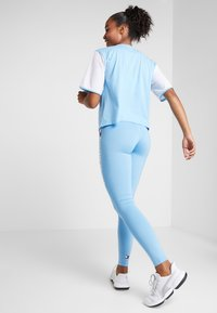 Tommy Sport - HIGHWAIST LEGGING LOGO - Tights - blue - 2
