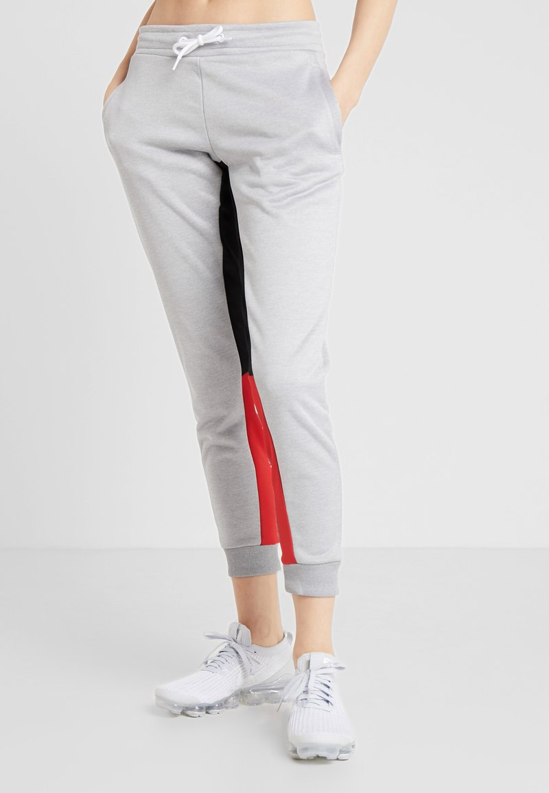 Tommy Sport - GRAPHIC SLIM FIT  - Tracksuit bottoms - grey