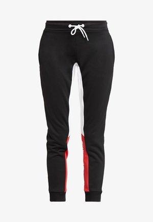 GRAPHIC SLIM FIT  - Teplákové kalhoty - black