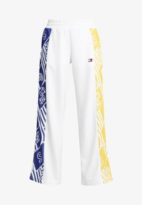 Tommy Sport - GRAPHIC CULOTTE PANTS - Tracksuit bottoms - white - 4