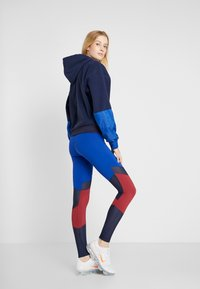 Tommy Sport - BLOCKED FULL LENGTH - Collants - blue - 2
