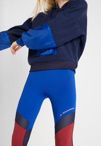 Tommy Sport - BLOCKED FULL LENGTH - Collants - blue - 3
