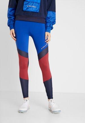 BLOCKED FULL LENGTH - Collants - blue