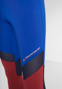 Tommy Sport - BLOCKED FULL LENGTH - Collants - blue - 6