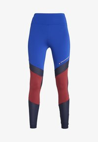 Tommy Sport - BLOCKED FULL LENGTH - Collants - blue - 5