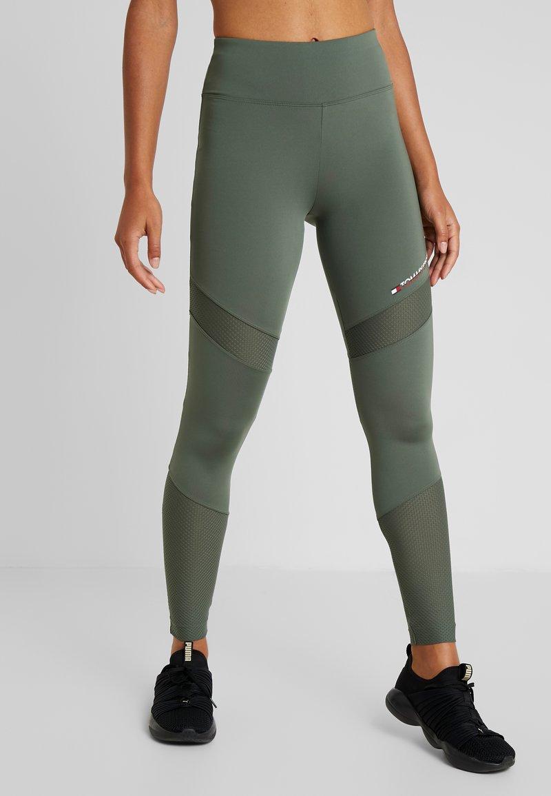 Tommy Sport - BLOCKED FULL LENGTH - Collants - green