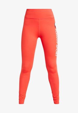 LEGGING HIGHWAIST LOGO - Leggings - red