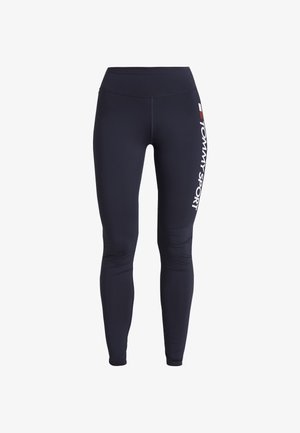 LEGGING HIGHWAIST LOGO - Legginsy - blue