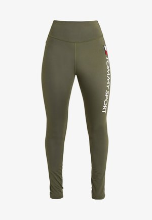LEGGING HIGHWAIST LOGO - Collants - green
