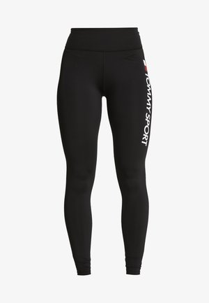 LEGGING HIGHWAIST LOGO - Legging - black