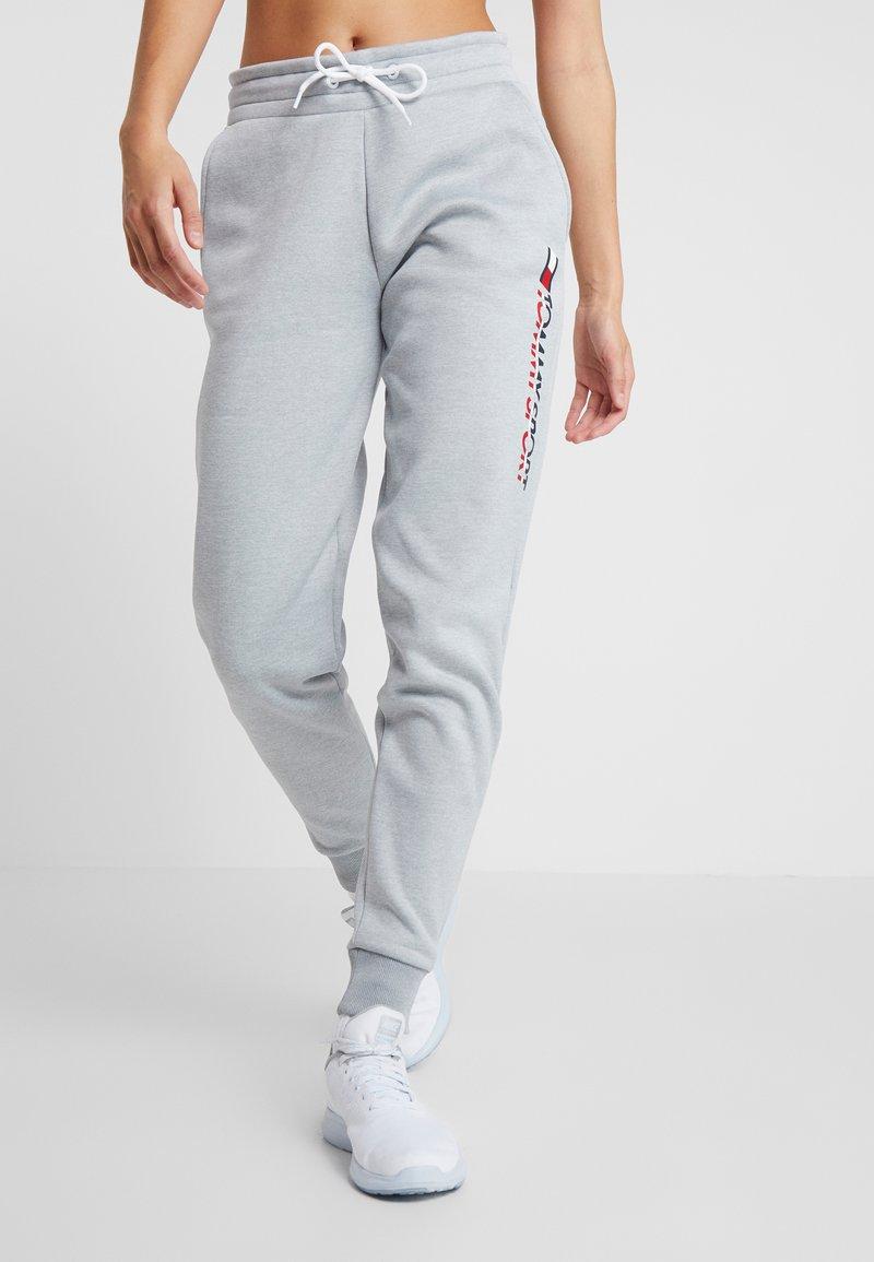 Tommy Sport - BIG LOGO - Pantalones deportivos - grey