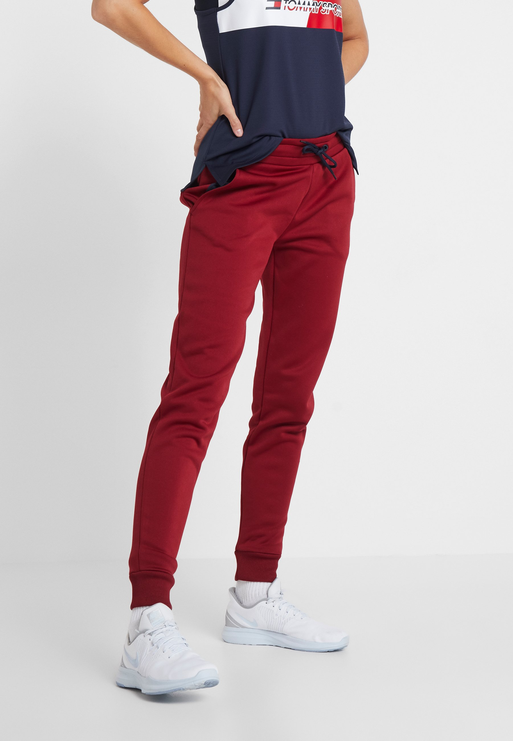 Red Survêtement Tommy De Big Sport LogoPantalon JulF1KcT3