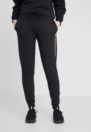 BIG LOGO - Teplákové kalhoty - black
